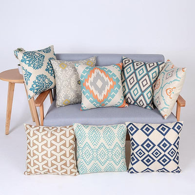 Modern Geometric Throw Cushion Cover Collection-Cushion Cover Collection-Estilo Living