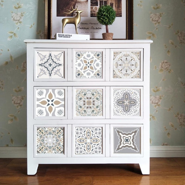 Moroccan Designer Tile Decal Set-Decals for Furniture-Estilo Living