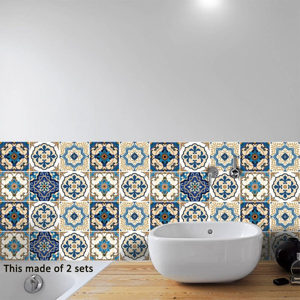 Moroccan-Style Tile Decal Set-Designer Decal-Estilo Living-Estilo Living