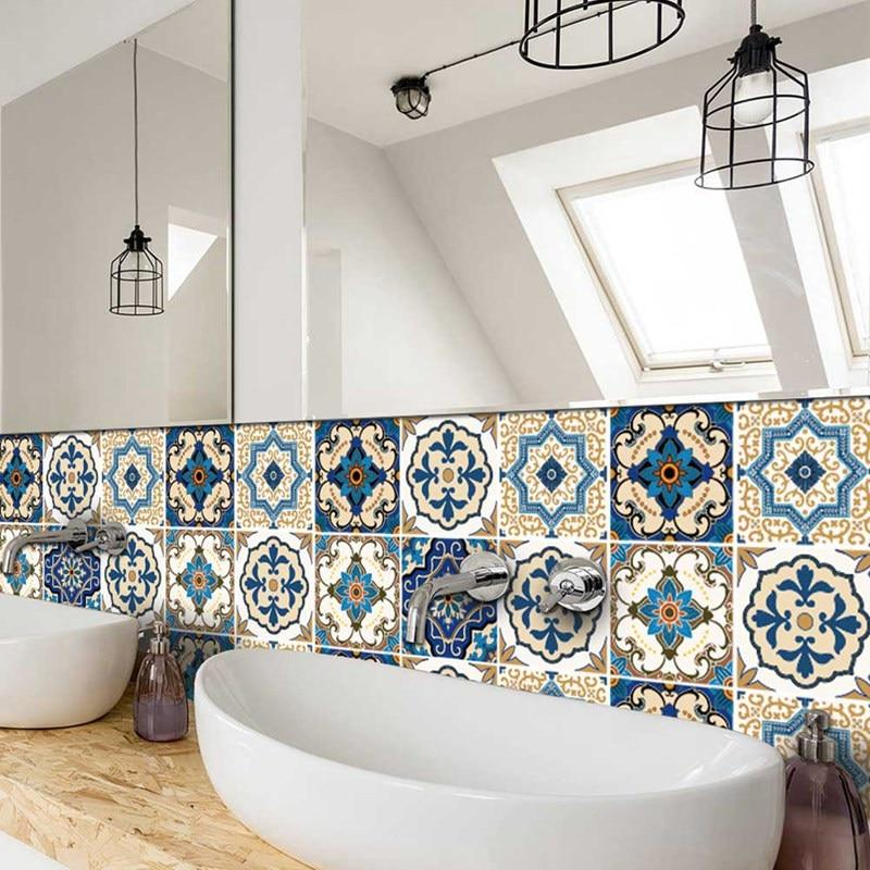 Moroccan-Style Tile Decal Set-Designer Decal-Estilo Living-Select-Select-Estilo Living