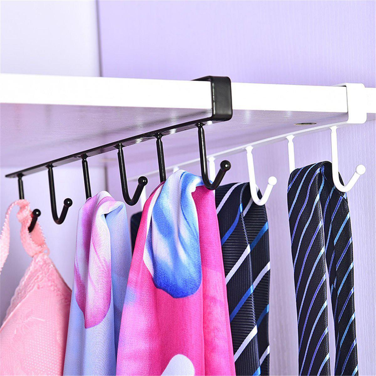 Multi Hook Kitchen Hanging Storage Rack-Wall Hooks Decorative Collection-Estilo Living