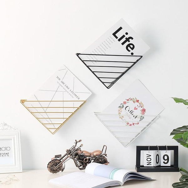 Nordic Wall Hanging Shelf Rack-Storage-Estilo Living-Estilo Living