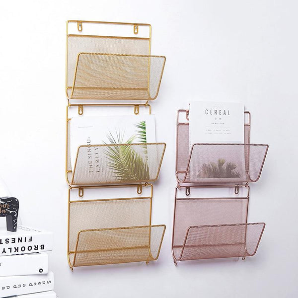 Nordic Wall Hanging Shelf Rack-Storage-Estilo Living-Select-Estilo Living