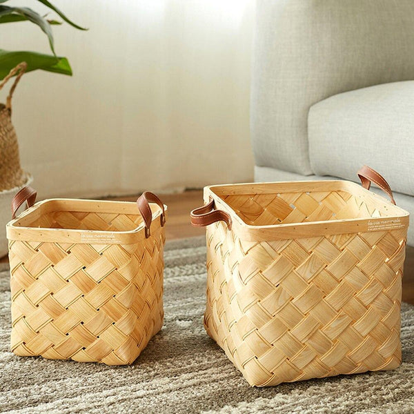 Ocean Pure Handmade Storage Baskets-Storage Baskets Decorative Collection-Estilo Living