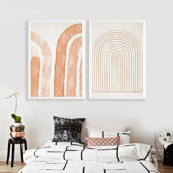 Orange Sunkissed Wall Art-Wall Art for Living Room-Estilo Living