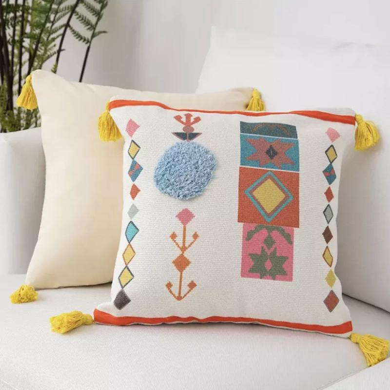 Peruvian Cushion Collection-Cushions-Estilo Living-White Sun-Estilo Living