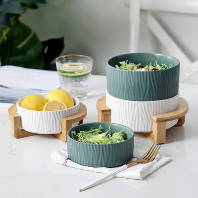 Nordic Henrik Stackable Bowl Collection | Tableware | Tiny House Tableware | Small Apartment Tableware | Stackable Bowls | Dining Sets | Estilo Living