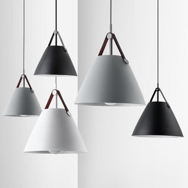 The Bellrin Pendant Lights - Grey Pendants, White Pendants and Black Hanging Pendants by Estilo Living