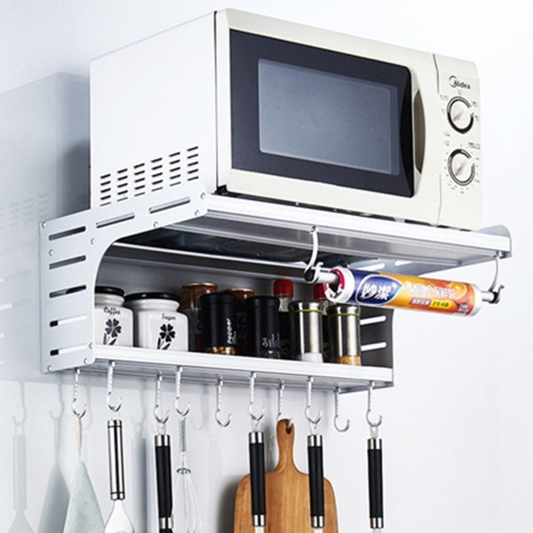 The Dalton Kitchen Storage & Microwave Rack by Estilo Living