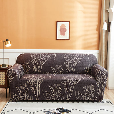 Seaton Jacquard Stretch Sofa Slip Covers for 1 to 4 Seater Sofas | Couch Covers | Pet Couch Protectors | Sofa Covers | Sectional Couch Covers | L-Shaped Couch Covers | Slip Covers | Estilo Living