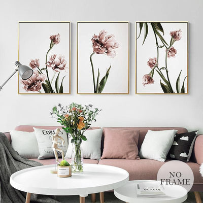Romance and Flowers Wall Art Collection-Wall Art for Living Room-Estilo Living