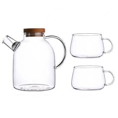 Scandinavian Glass Teapot Set-Kitchen-Estilo Living-Set B-Estilo Living
