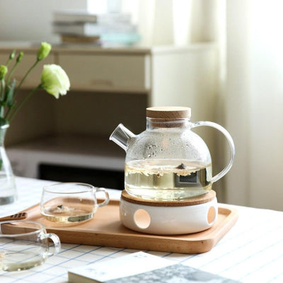 Scandinavian Glass Teapot Set-Kitchen-Estilo Living-Select-Estilo Living