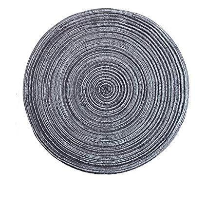 Teahouse Placemats Collection-Kitchen-Estilo Living-DarkGrey-18cm-Estilo Living