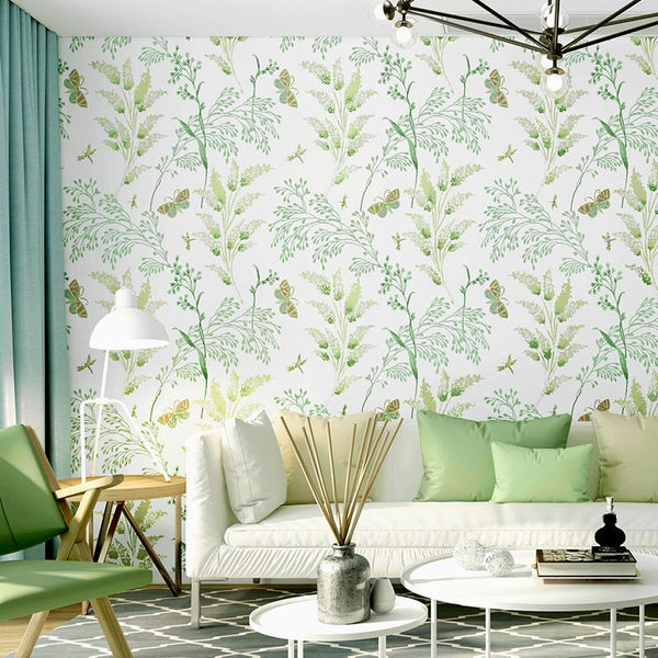 The Flourish Wallpaper Collection-Wallpaper for Living Room Collection-Estilo Living