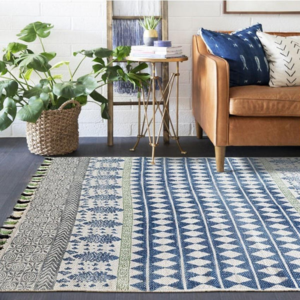 The Tribe Kilim Mat Collection-Floor Mats -Estilo Living