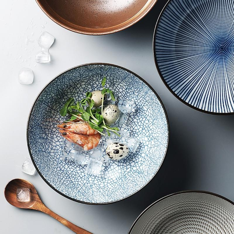 Traditional Japanese Ceramic Dinnerware Set-Kitchen-Estilo Living-Estilo Living
