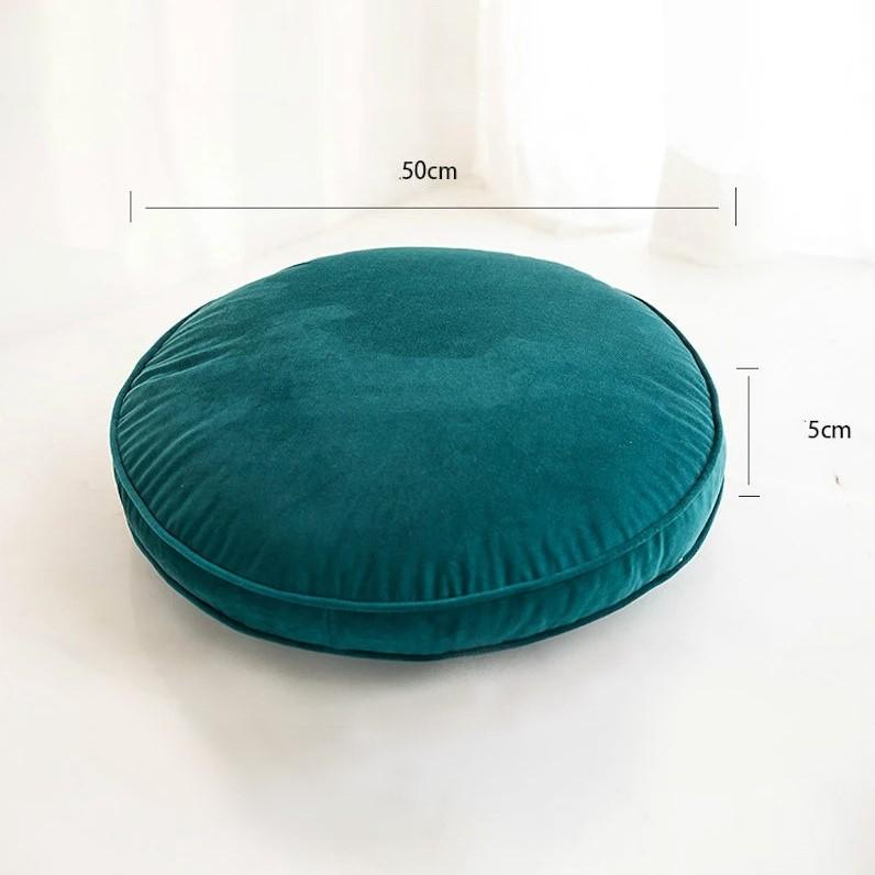 Velvet Luxury Round Pillow Cushions Collection-Cushions-Estilo Living-Estilo Living
