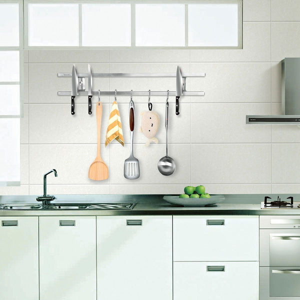 Wall Mounted Magnetic Utensil Rack-Kitchen-Estilo Living-Estilo Living