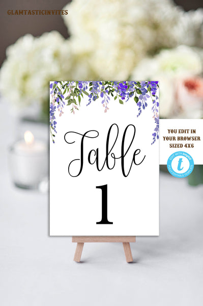 Admirable Table Numbers Template Printable Table Numbers Wedding Table Numbers Instant Download Floral Wedding You Edit Diy Wedding Template Download Free Architecture Designs Embacsunscenecom