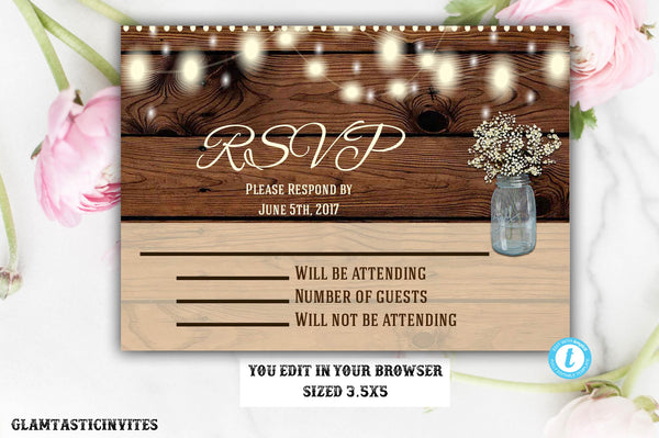 photo about Printable Rustic Wedding Invitations named Rustic Wedding ceremony Invitation RSVP, Wedding day Invitation RSVP, Electronic history, Printable, Rustic RSVP, Rustic Rsvp Card, Marriage Rsvp, Rsvp, YouEdit