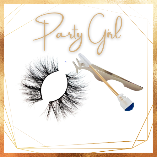 Party Girl! - 3D Mink Lashes