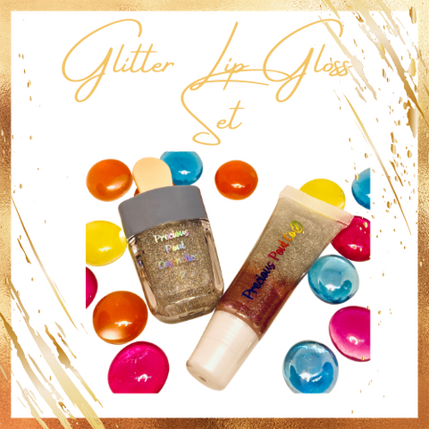 Glitter Lip Gloss Set