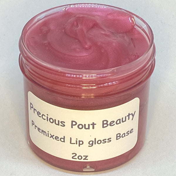 Premixed Lip Gloss Base - Pink Panther