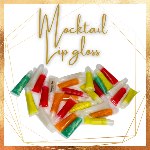 Mocktail Lip Gloss - Squeeze tubes