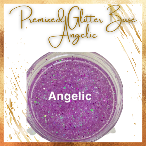 Premixed Glitter Lip Gloss Base - Angelic