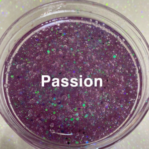 Premixed Glitter Lip Gloss Base - Passion