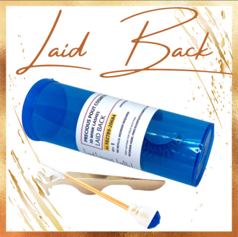 Laid Back - 3D Mink Lashes