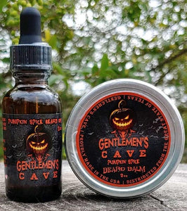 Pumpkin Spice Beard Oil and Balm