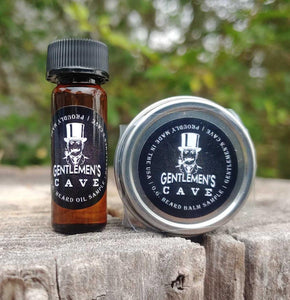 Premium Beard Oil and Balm Sample