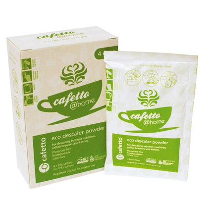 Cafetto @home Eco Descaler Powder 4x25g Pack