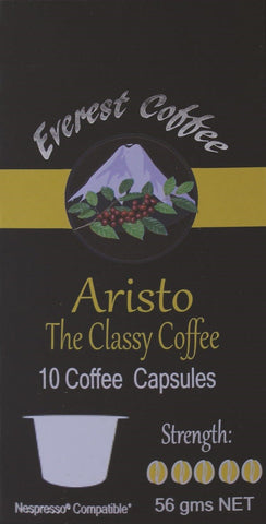 50 x Aristo Coffee Capsules (Nespresso® Compatible)