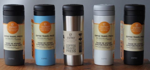 Espro Travel Double-Filter Coffee Press 330 mL