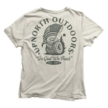 """In God We Trust"" Patriotic UpNorthOutdoors T-Shirt"