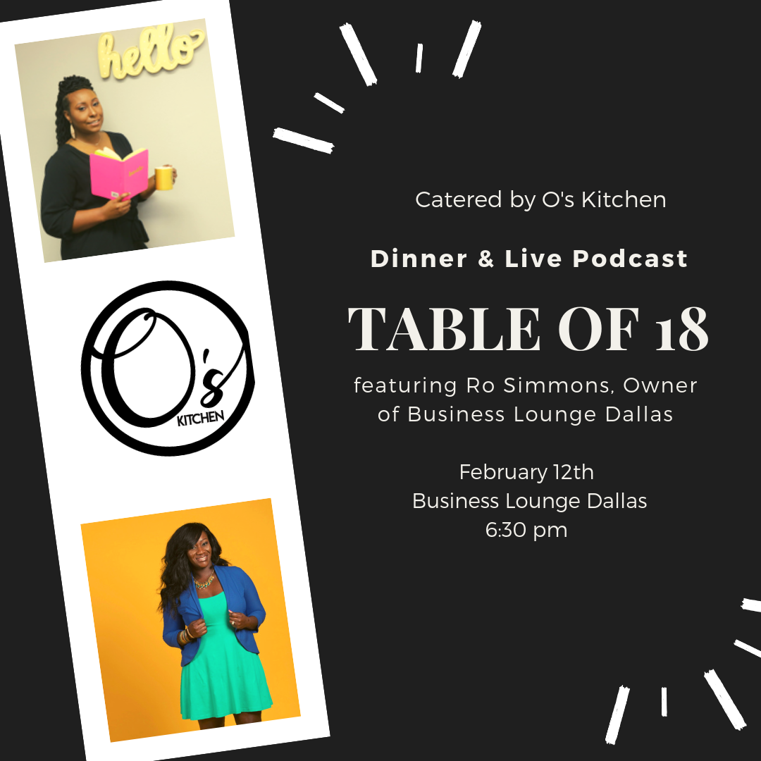 Table of 18 - February Edition - A Seat At The Table Branding Agency