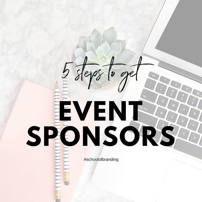 Pink Branding School - 5 Steps to get event sponsorship