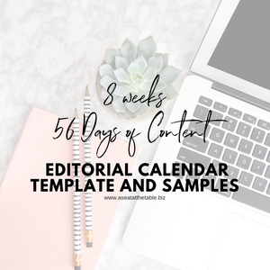 8 weeks / 56 Days of Content - A Seat At The Table Branding Agency