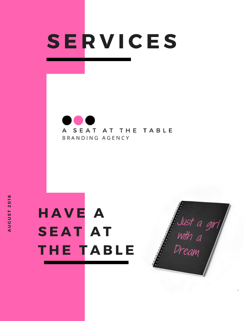 Services - A Seat At The Table Branding Agency