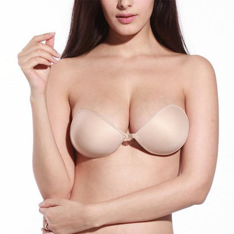 Sexy Silicone Invisible Push Up Strapless Bra