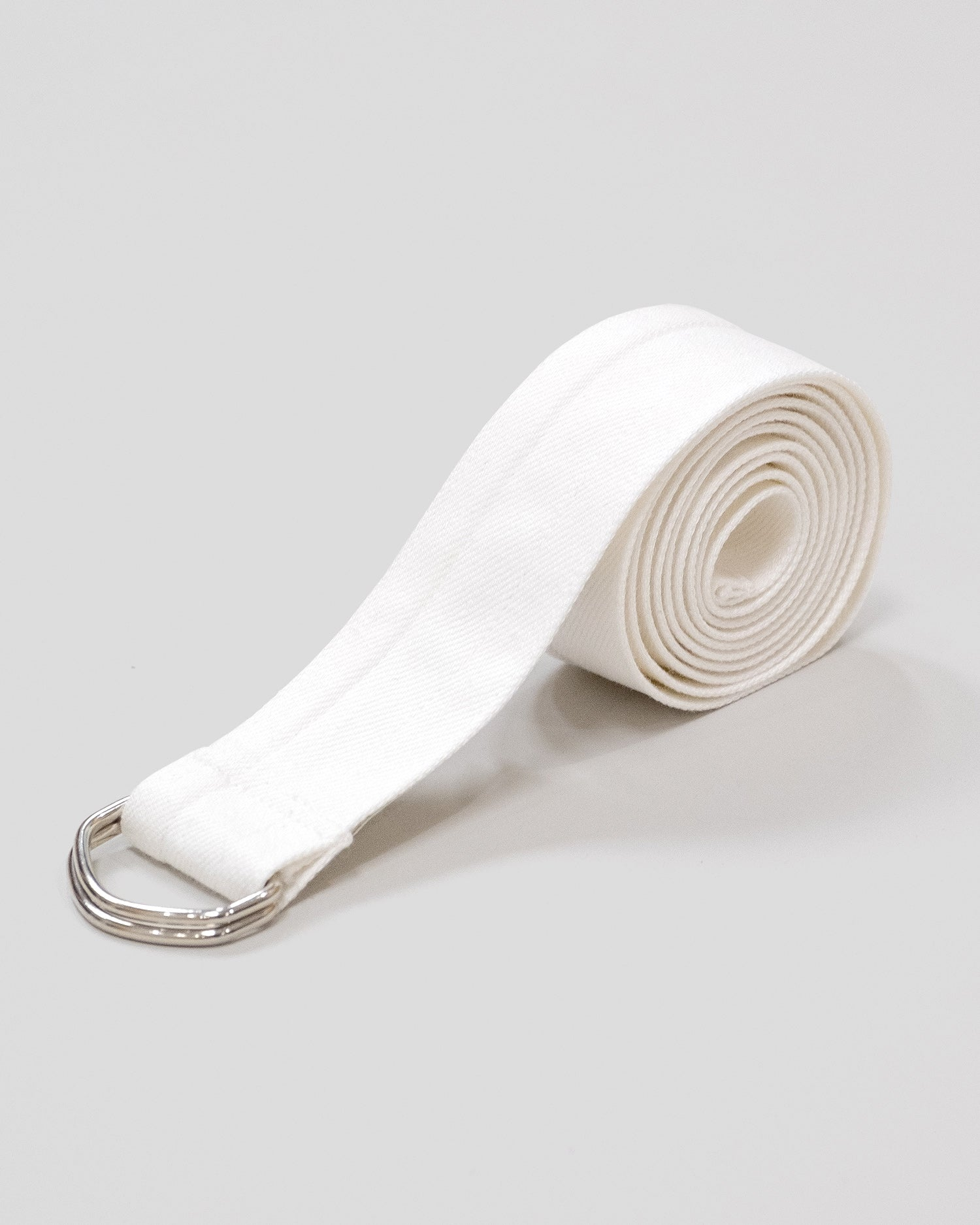 Lou Dalton D-Ring Belt White