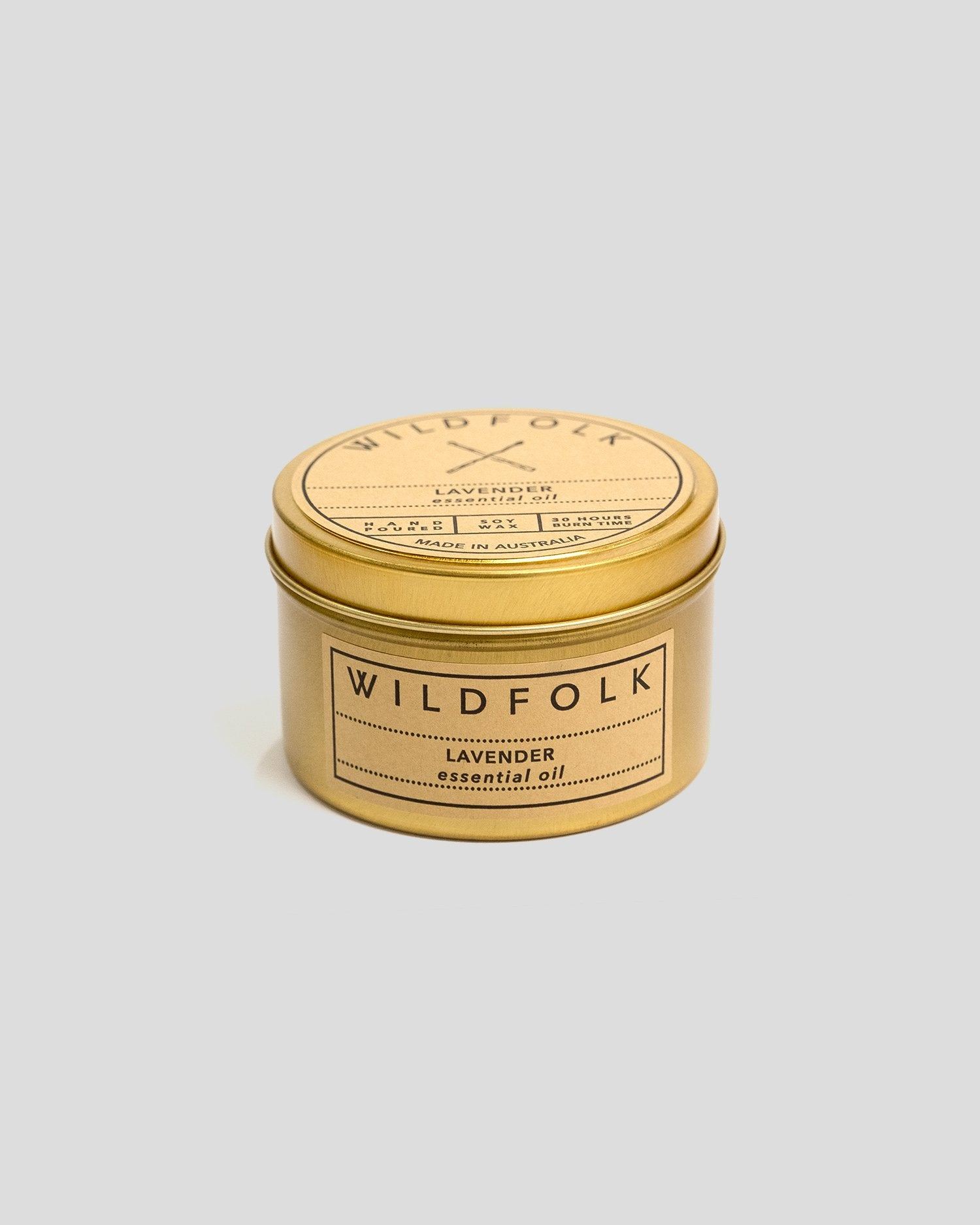 Wildfolk Tin Candle - Lavender