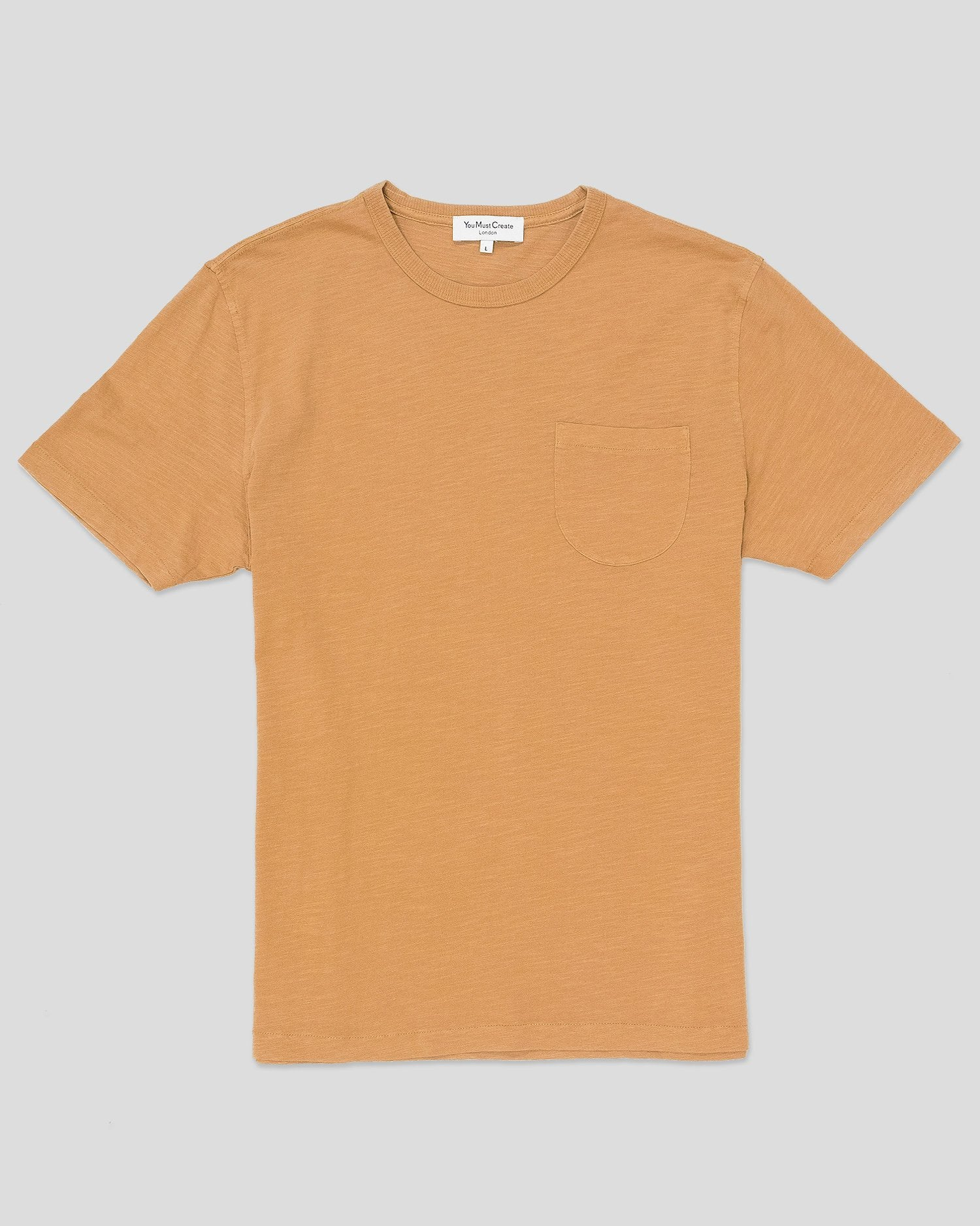 YMC Wild Ones Pocket Tee Camel