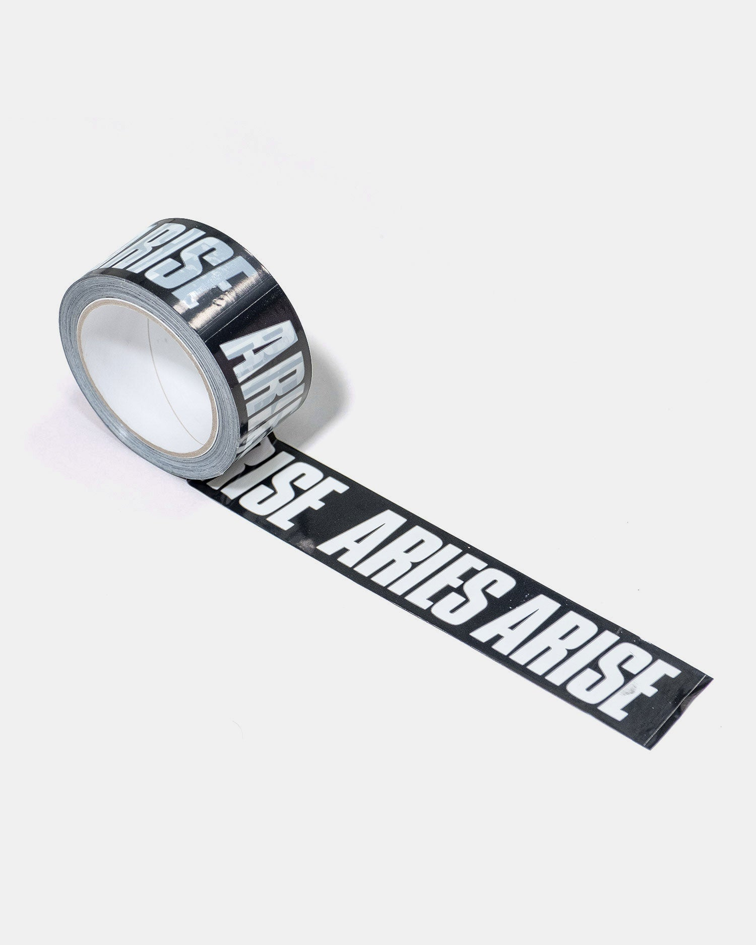 Aries Logo Tape Black/White