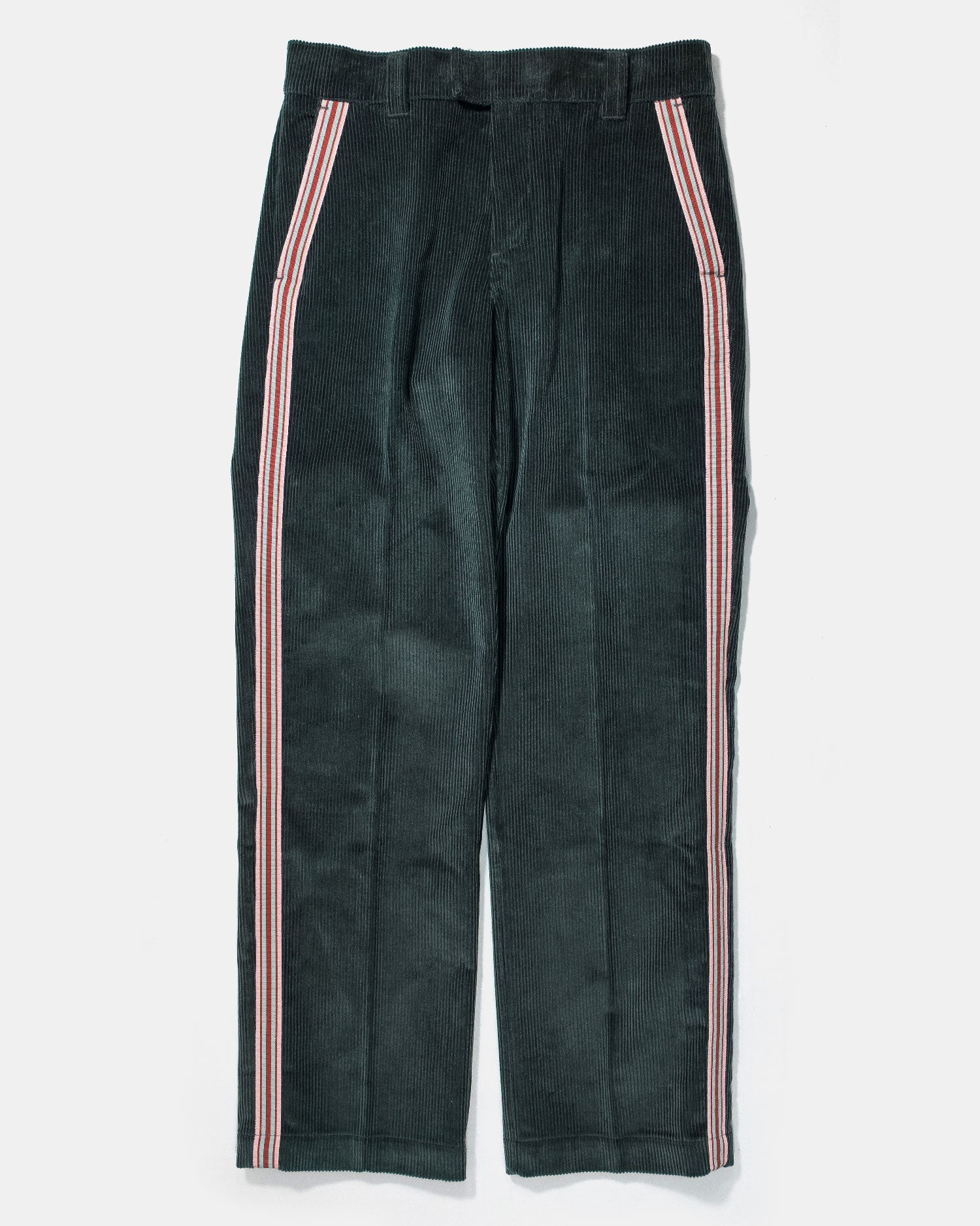 Soulland Greco Corduroy Trousers Green