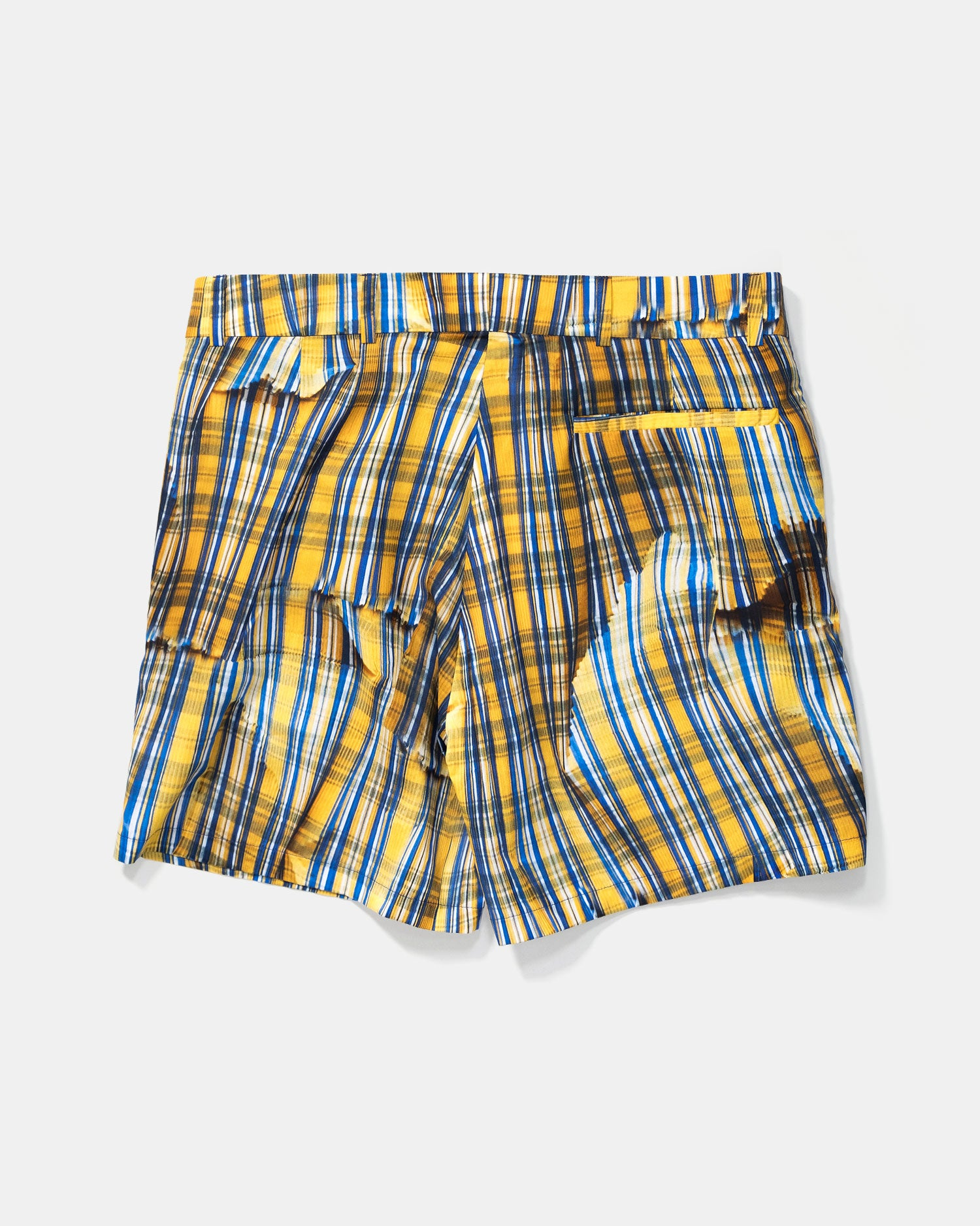 Tonsure Axel Check Shorts