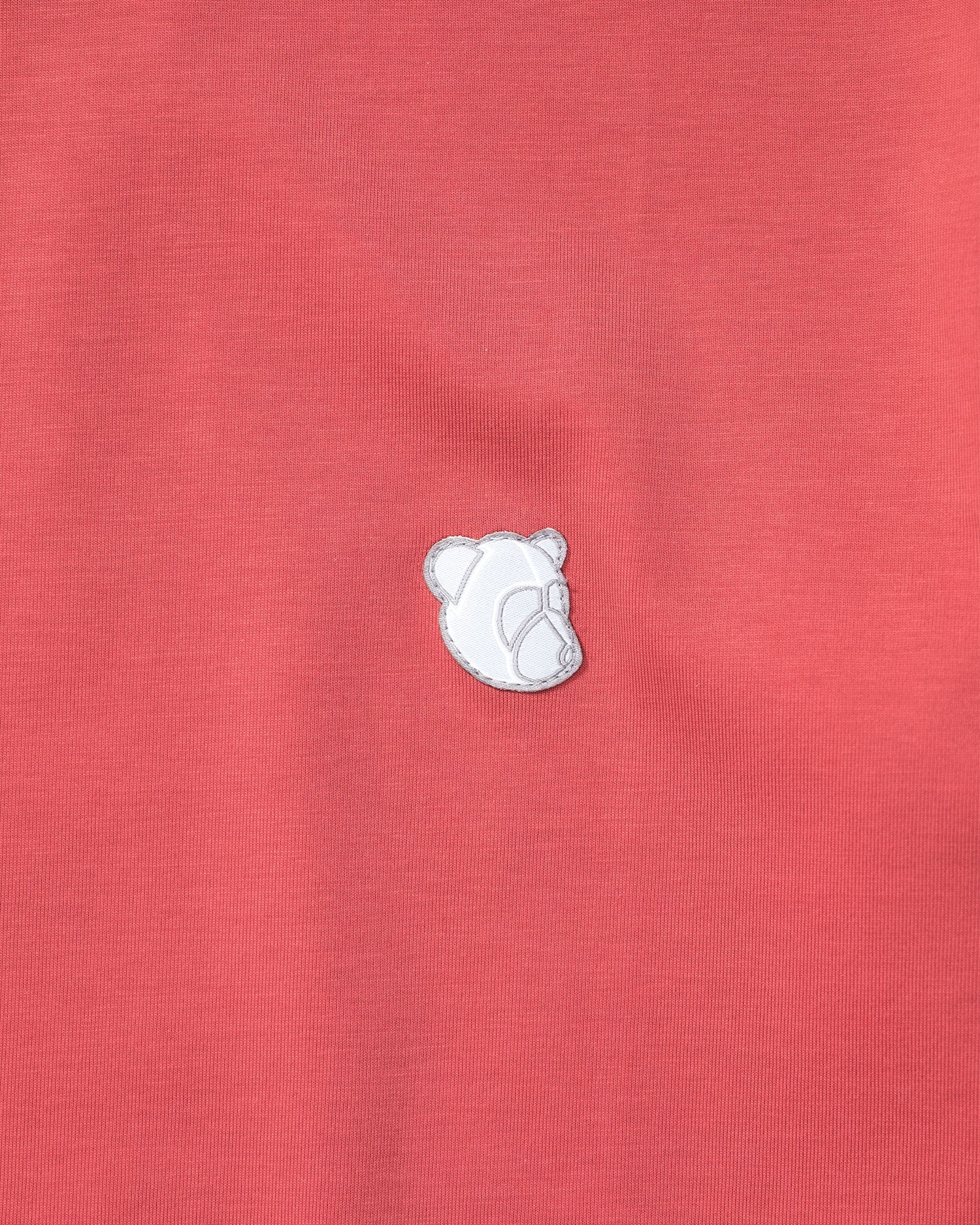 Tonsure Teddy Logo Tee Faded Red